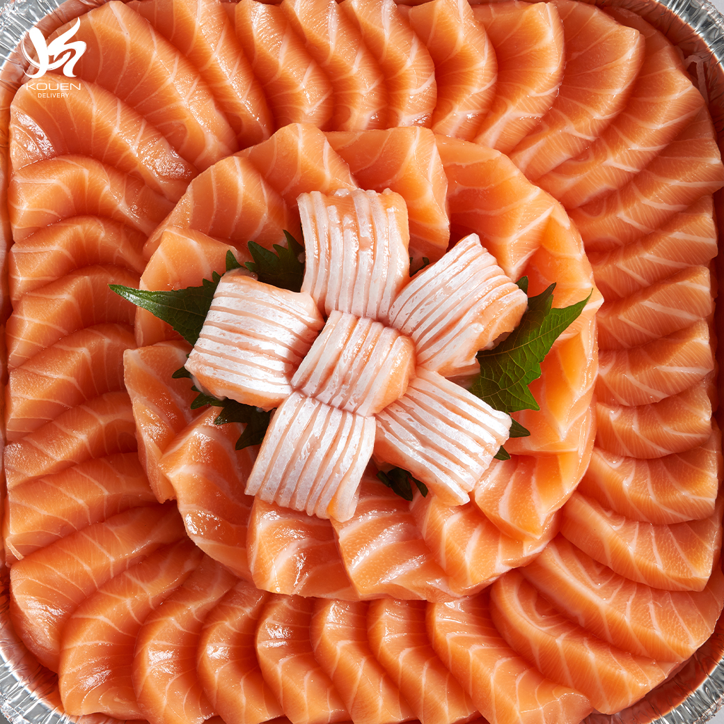 Salmon Sashimi 1 kg Special price from 1399 to 999