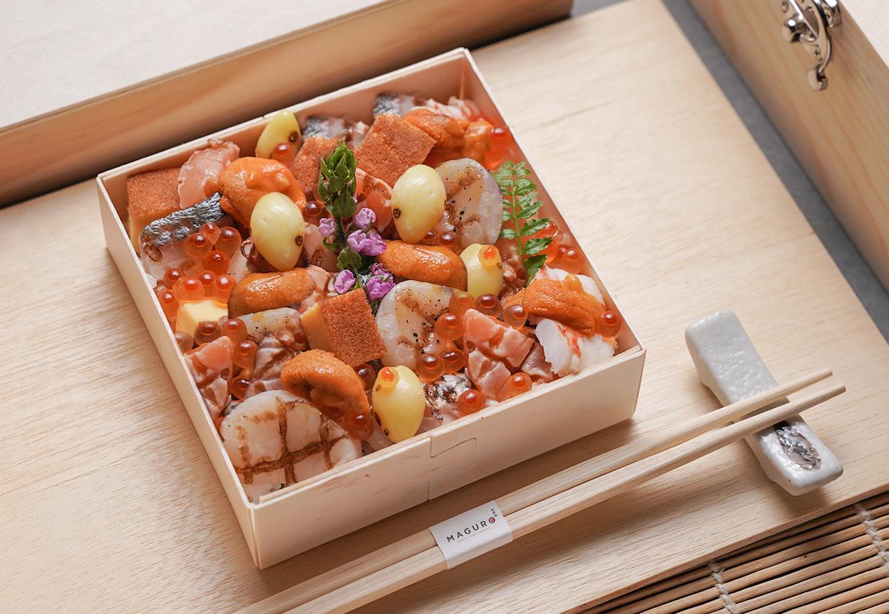 Mini Yaki Chirashi box A