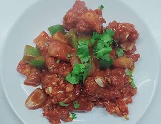 Mix Vegetable Paneer Manchurain