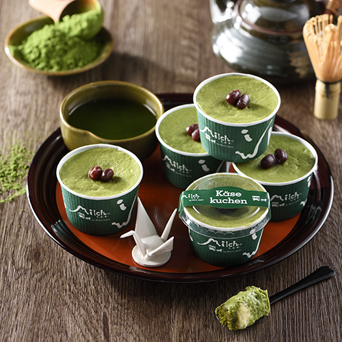 Matcha Cheese Cup
