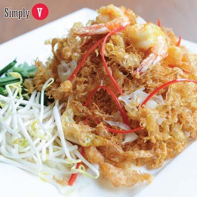 Thai Crispy Fried Rice Noodle