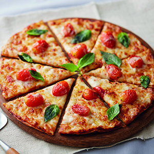 Margherita Pizza Free Spaghetti Cream Ebiko