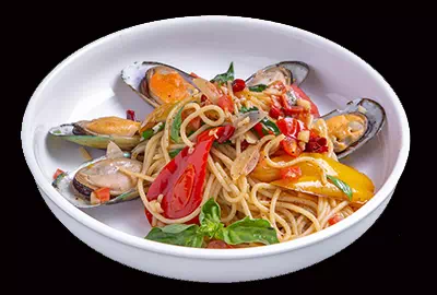 Spaghetti N.Z. Mussels