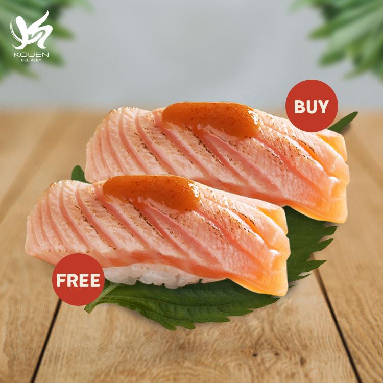 1Free1:Salmon Saikyo Sushi