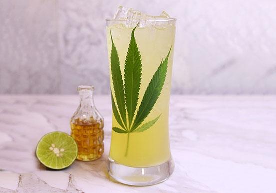 Lemon honey with herb