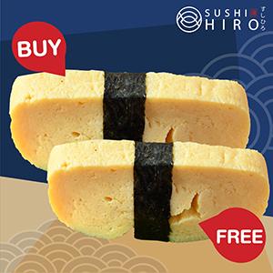 [ 1 Free 1 ] Tamago Sushi