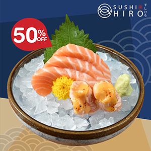 Salmon Duo Sashimi
