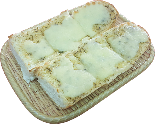 Garlic Bread with Cheese