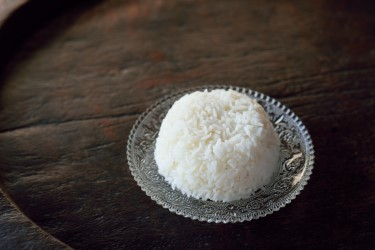 Steamed Jasmine Rice (Dish)