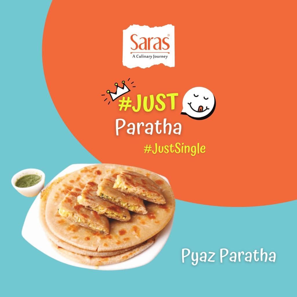 Just Pyaz Paratha