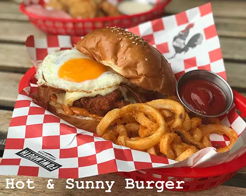 Hot and Sunny Burger