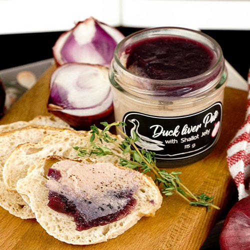 Duck Liver Pate with Shallot Jelly