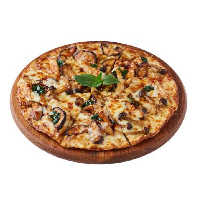 Spicy Mixed Mushrooms PizzaFree Spaghetti Cream Ebiko