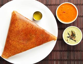 Rawa Mysore Cheese Paneer Masala Dosai