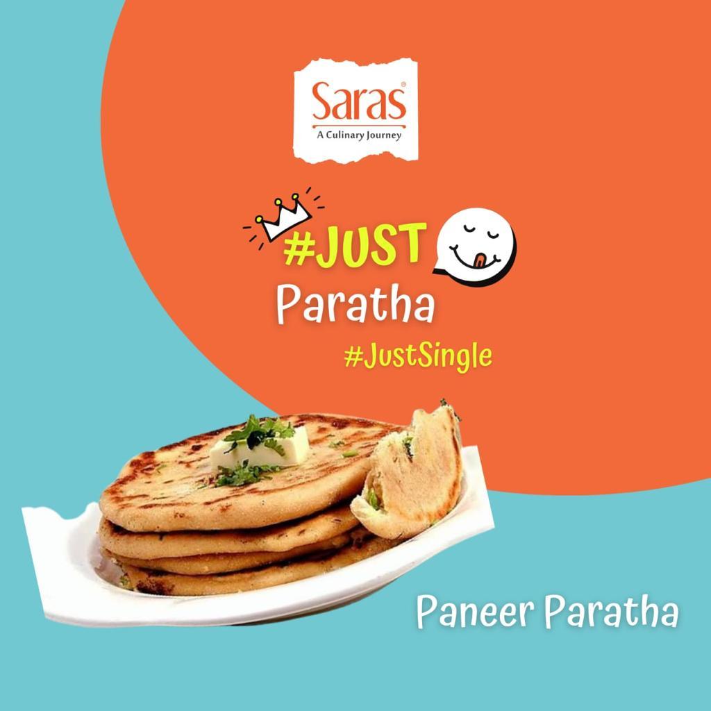 Just Paneer Paratha