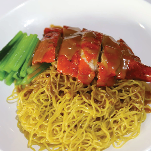 Roasted duck noodle