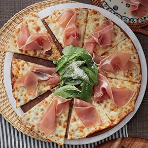Parma Ham Rocket & Black Truffle Cream Free Spaghetti Cream Ebiko