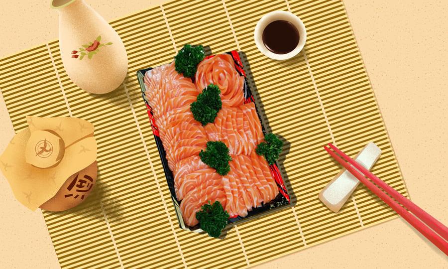 Salmon Sashimi 1 KG