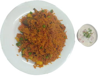Mix Vegetable Briyani