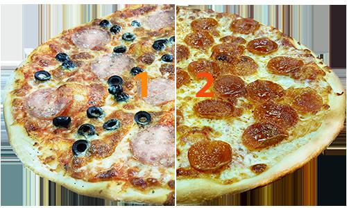 Half /Half Specialty Pizza
