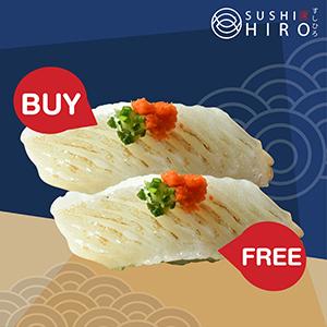 [ 1 Free 1 ] Engawa Sushi