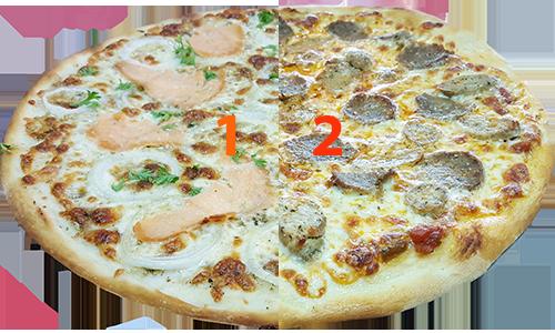 Half /Half Fusion Pizza