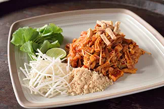 Pad Thai Crispy Tofu (veggies)