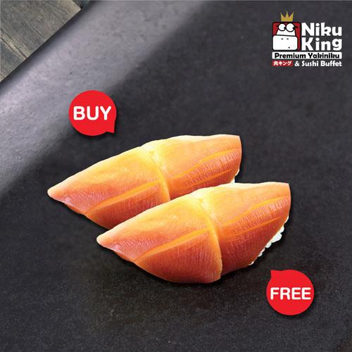 [ 1 Free 1 ] Hokkigai Sushi