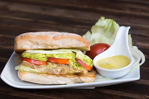 Big Mama Veggie Sandwich