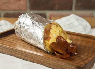 Breakfast Burritos with Fillings