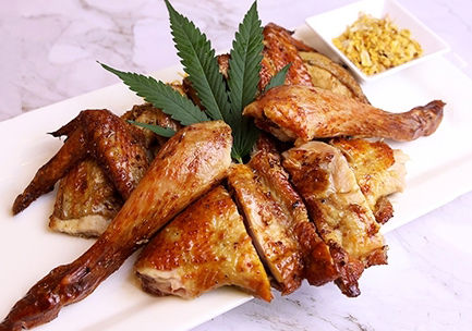 Grilled chicken with herb (whole)