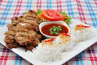 Moo Ping Kati Sod