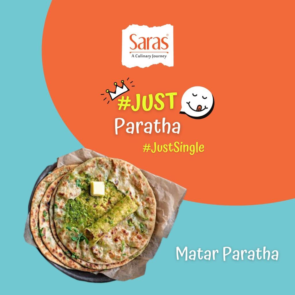 Just Matar Paratha