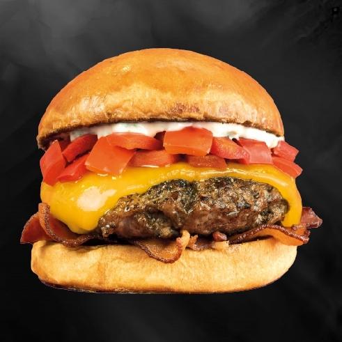 Burger X Bacon Pepper Jam (ฺBeef)