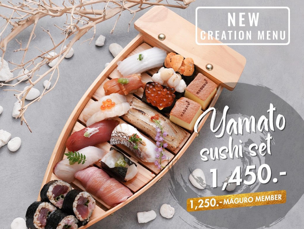 Yamato Sushi Set