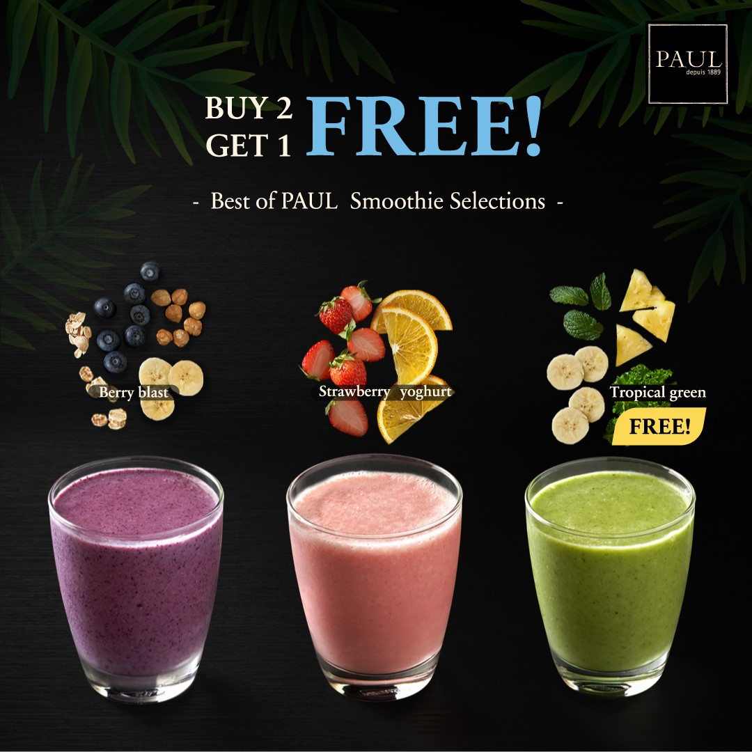 Smoothie Buy2 Get1 Free (Tropical green)