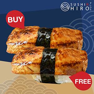 [ 1 Free 1 ] Premium Foiegras Sushi