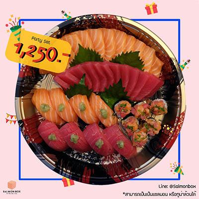 Party Set (Salmon&Tuna)