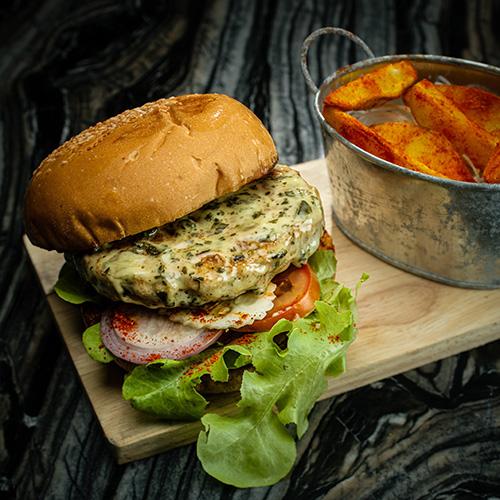 Masala Murgh Burger (Chicken)