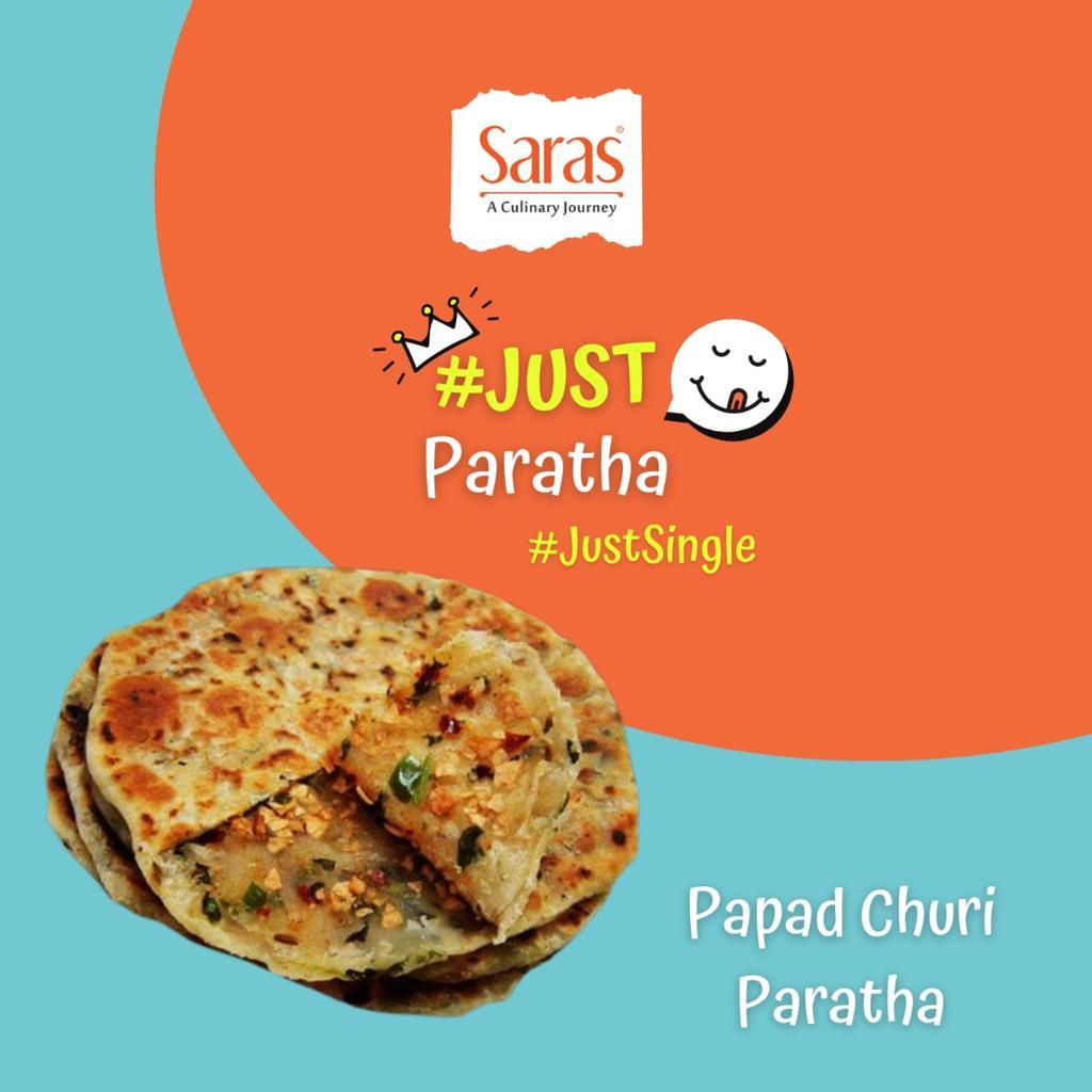 Just Papad Churi Paratha