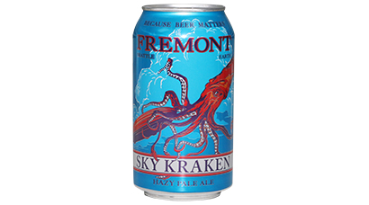 5.5% ABV - A contradiction of the senses offering ripe melon, juicy Citrus, pineapple and pepper flavors to the brave. An idea brought together by The Cosmic attraction of opposites, sky kraken is is a naturally unfiltered beer.